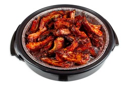 Party pan spareribs