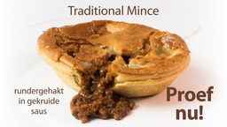 gevulde pie traditional mince