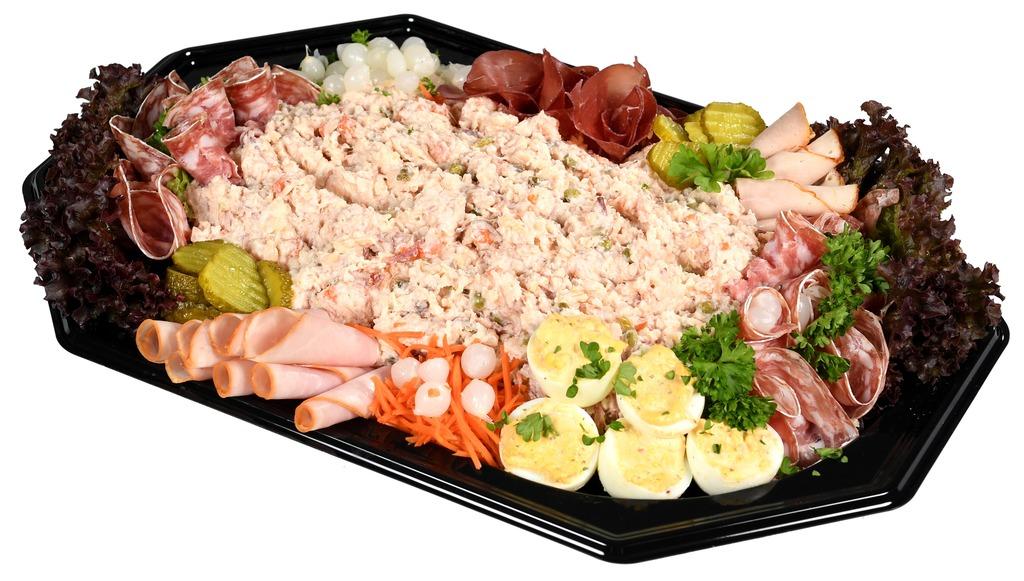 Rundvlees salade opgemaakt