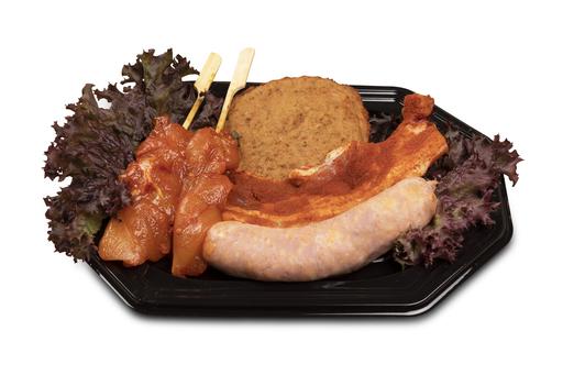 BBQ pakket De Luxe Barbecue Uw Slager Ornée Bolier