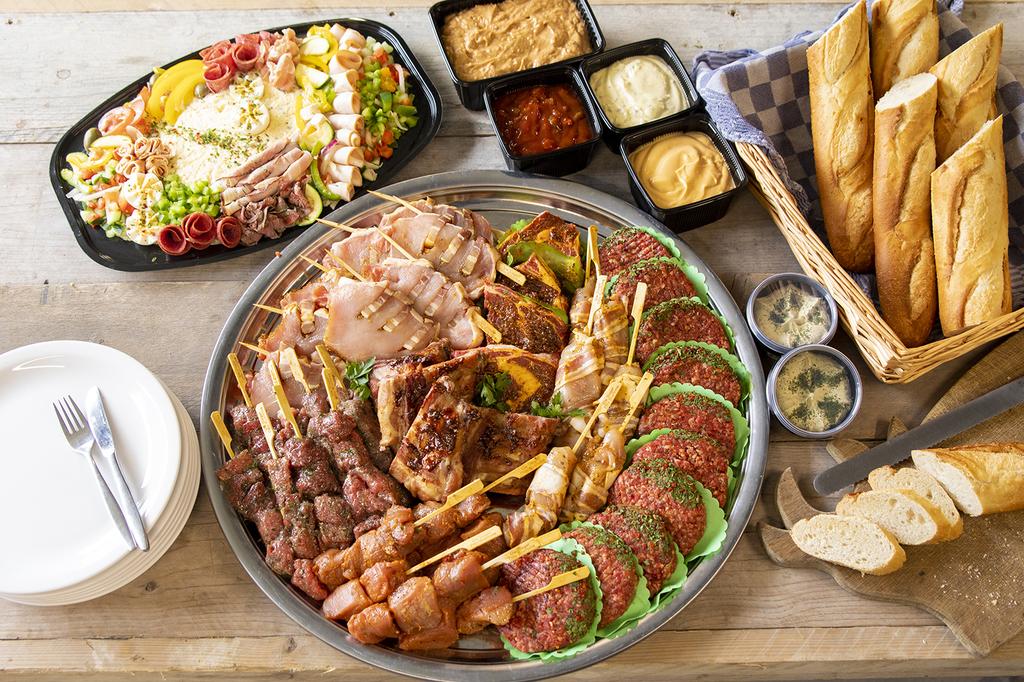 BBQ pakket de Luxe compleet