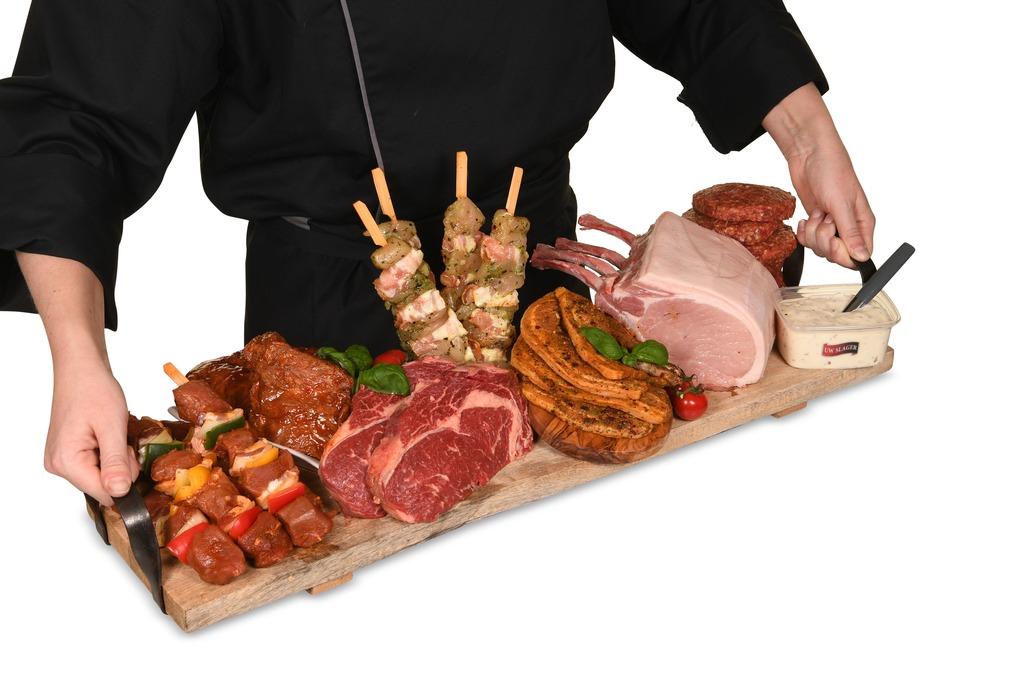 Otte's BBQ specialiteiten menu