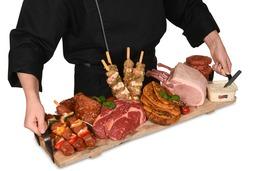 2. BBQ menu Luxe