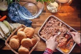 7.Pulled pork buffet