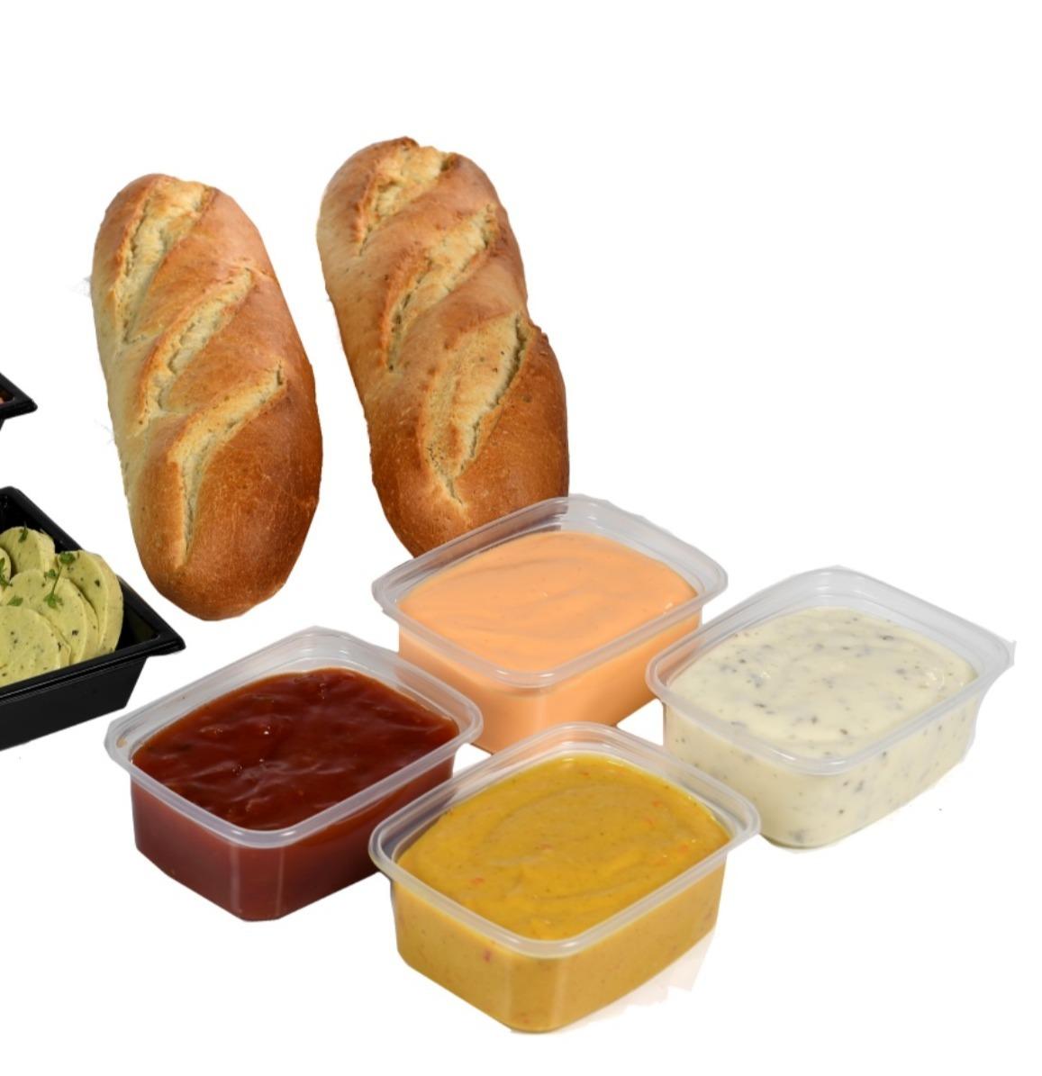 3. Maak uw gourmet compleet!