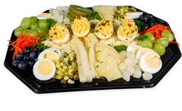Vegetarische Scharrel salade