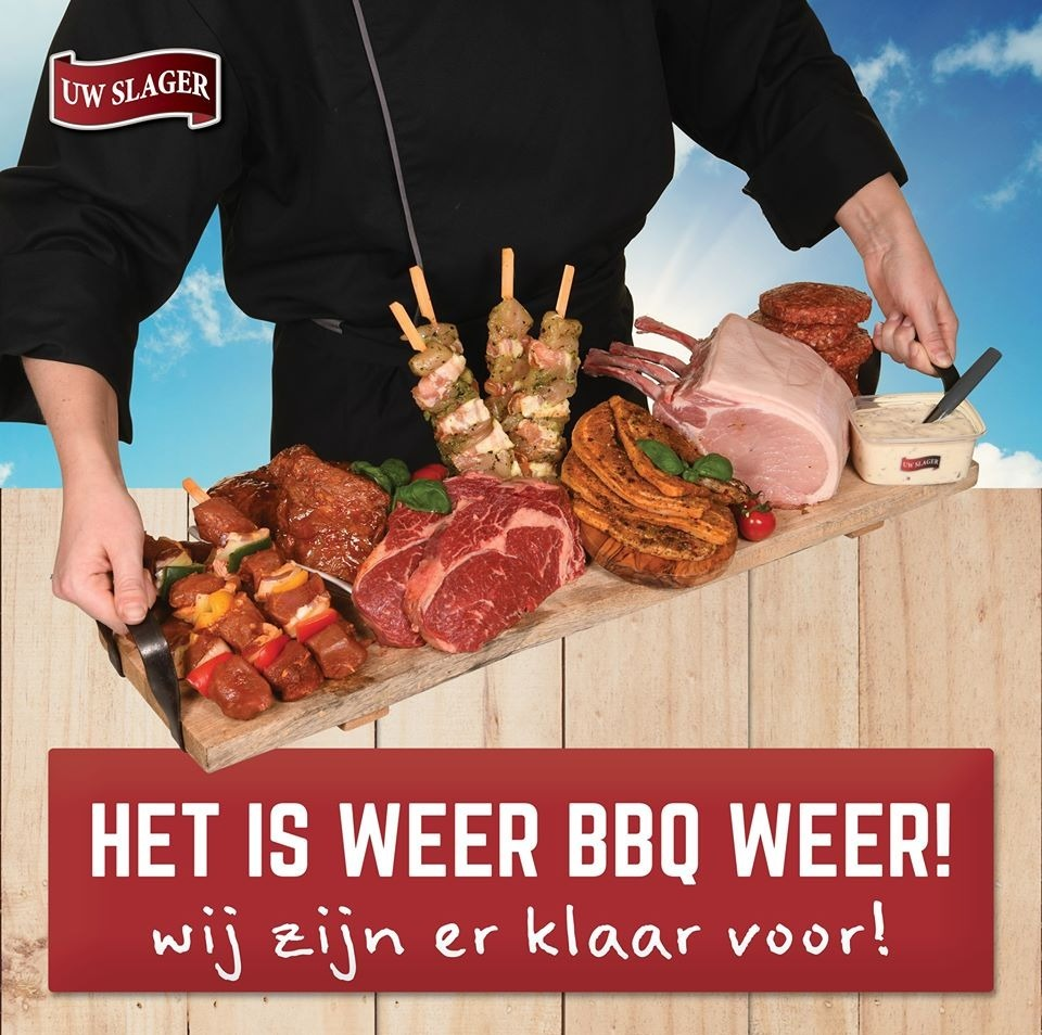 BBQ-party compleet