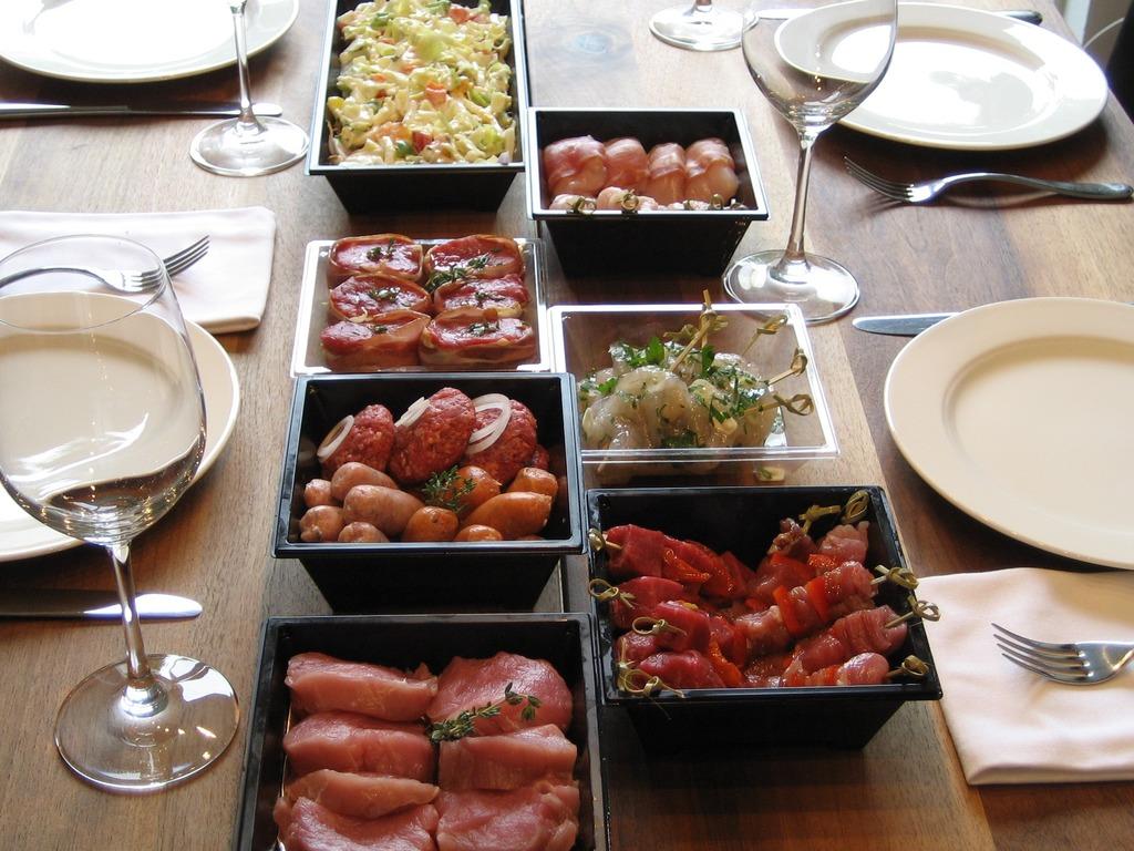 2 Gourmet menu De luxe