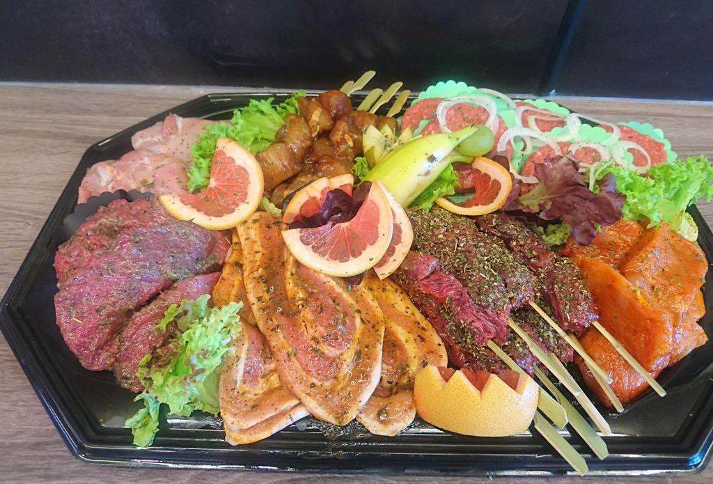 2.) BBQ pakket Variatie