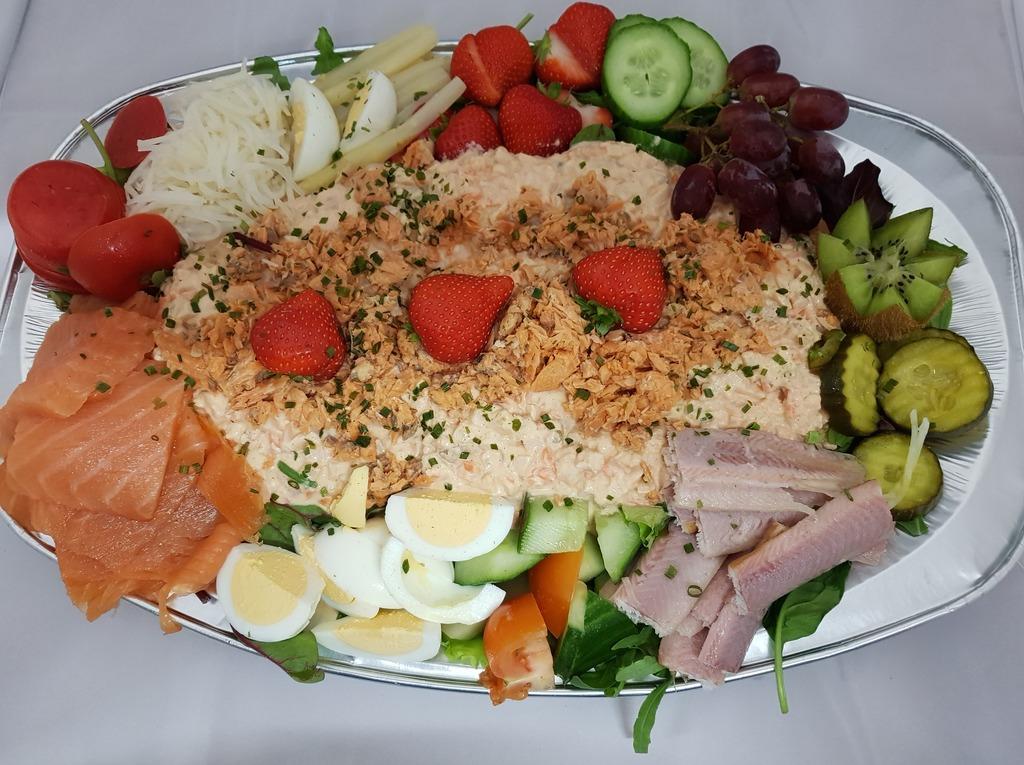 Zalm salade de Luxe