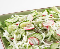 Salade Komkommer rauwkost