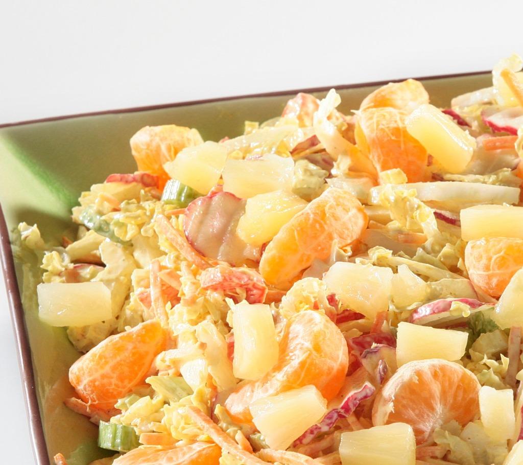 Salade Vruchten rauwkost