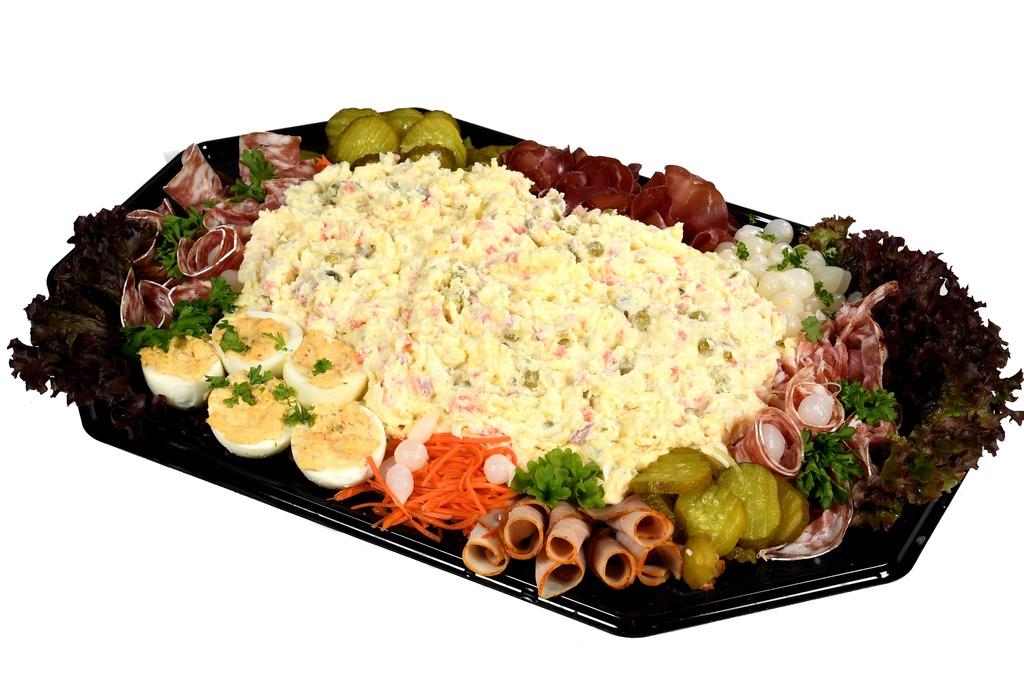 9. Scharrelei salade schotel