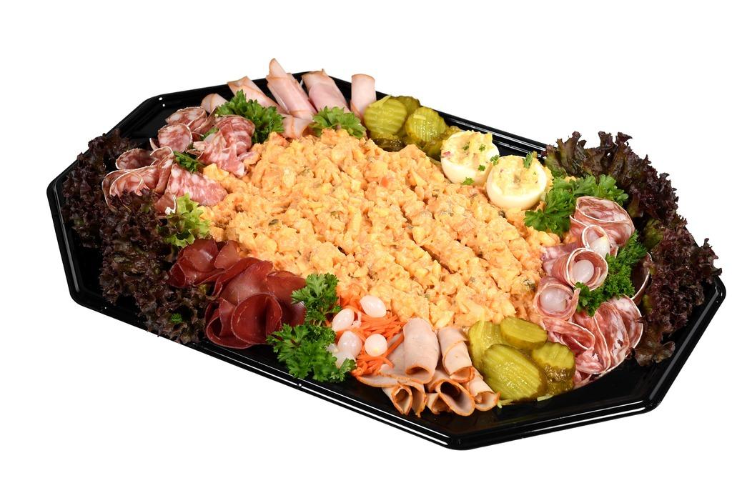 8. Vissalade schotel