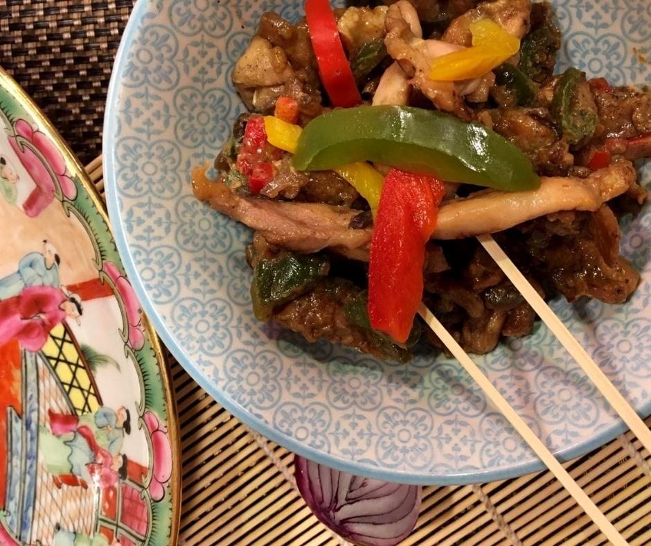 Oosterse maaltijd