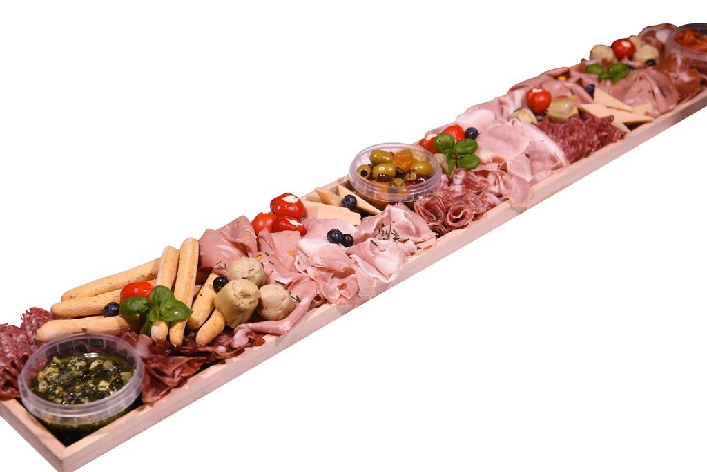 Italiaanse vleeswarenplank