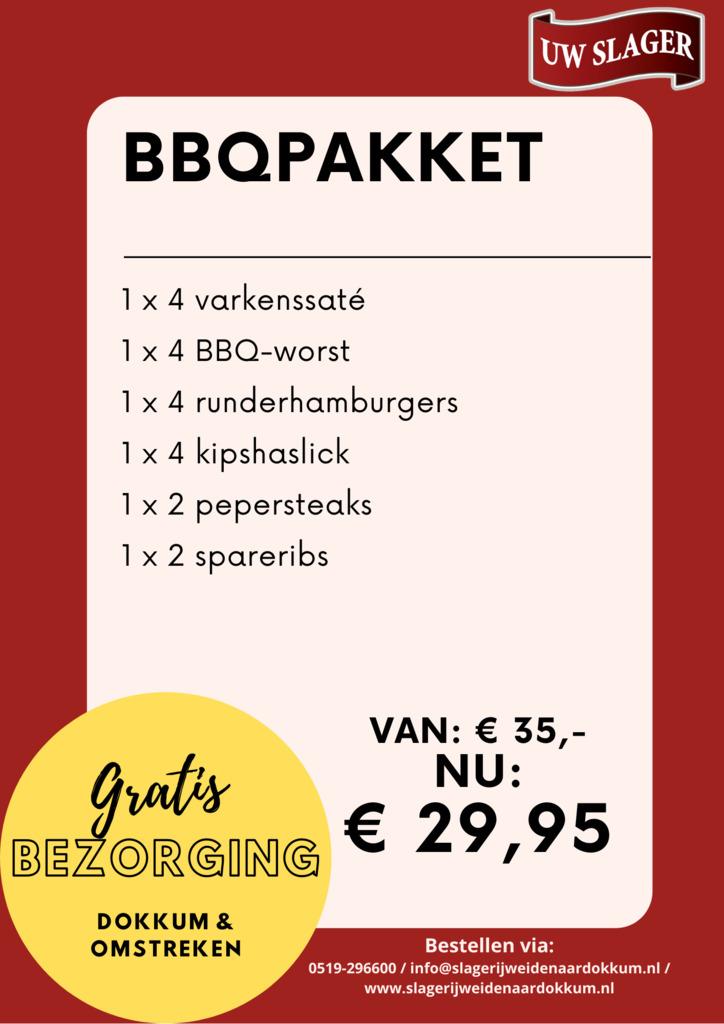 Barbecuepakket Pinksteren