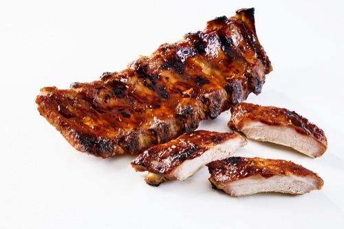 Gebraden spare ribs