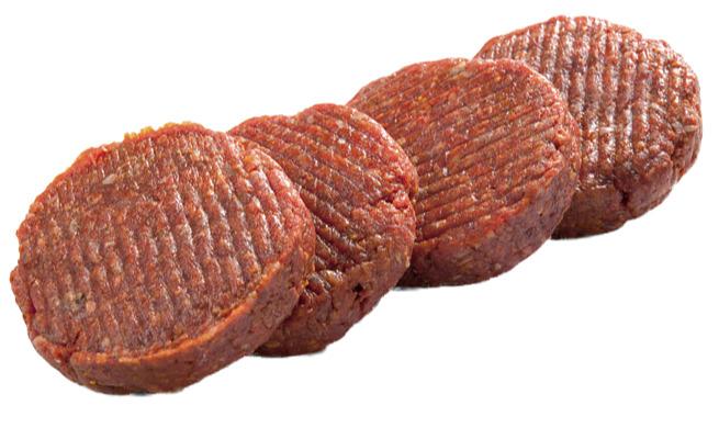 Barbecue hamburger