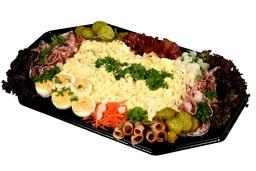 Luxe scharrel-ei salade