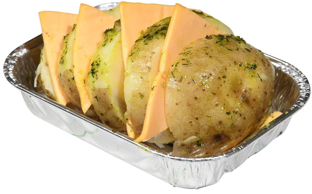 Chef's BBQ Selection Hasselback potato