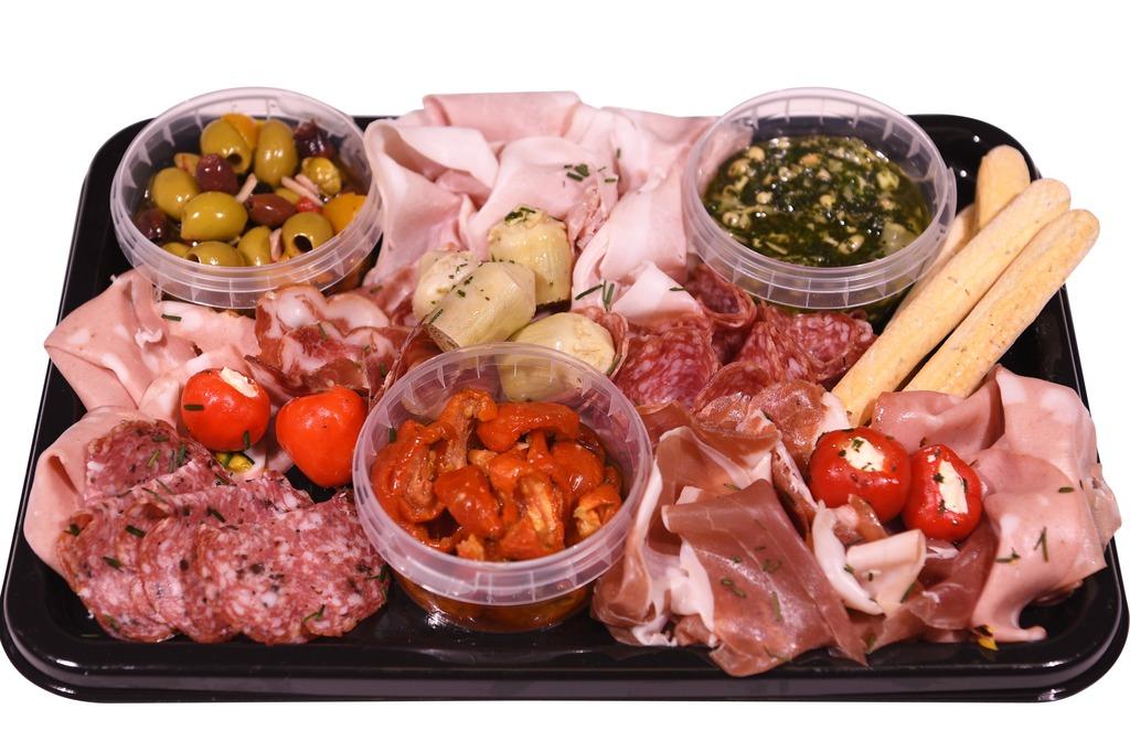 Italiaanse Antipasti & Vleeswaren schotel (5 personen)