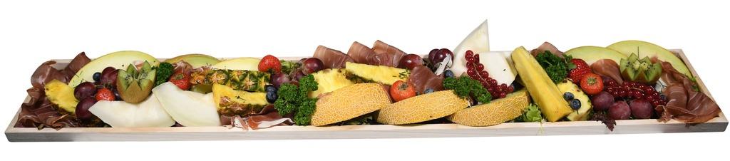 Feestplank met luxe Rauwe ham & Meloen (10 personen)