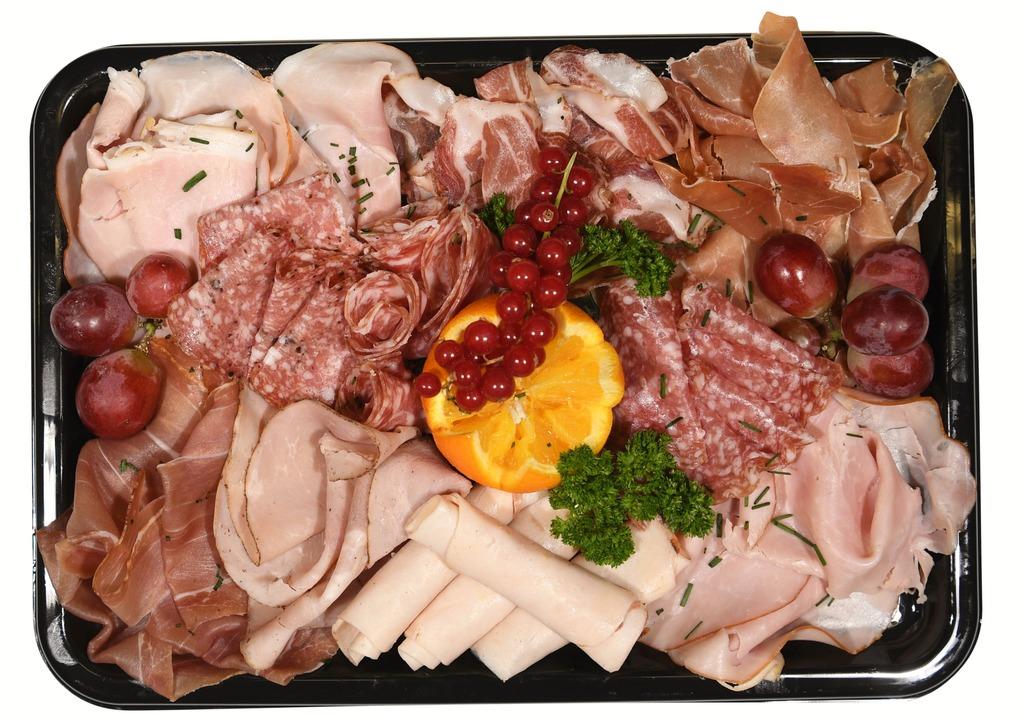 Luxe Vleeswarenschaal