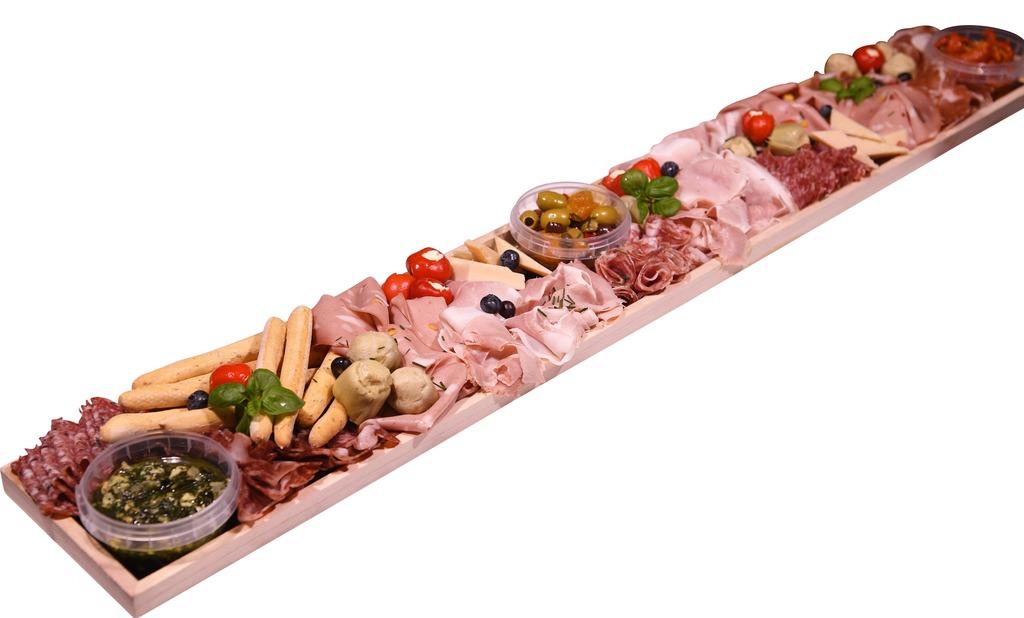 Italiaanse Anti Pasti & Vleeswarenplank (10 personen)
